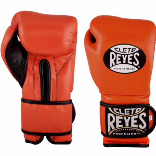 Cleto Reyes Wrap Around Sparring Gloves - Tiger Orange